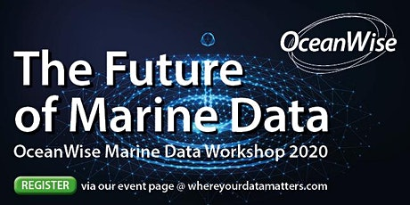 The Future of Marine Data tickets
