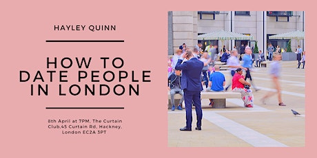 How to Date People in London tickets