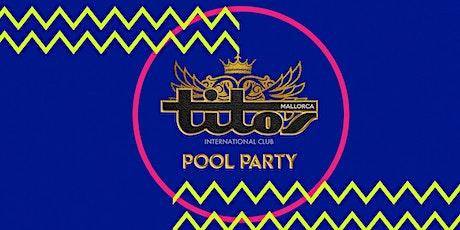 BH Mallorca Titos Pool Party 9th September Tickets