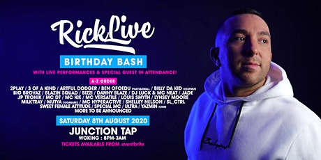 Rick Live's Birthday Bash tickets