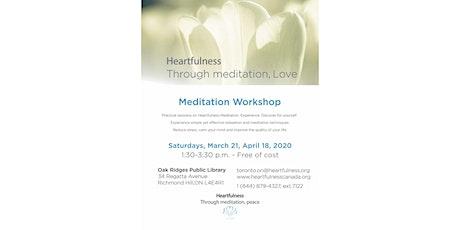 Free Meditation at Oak Ridges Public Library tickets