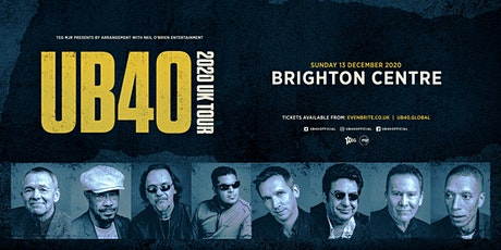 UB40 2020 (The Brighton Centre, Brighton) tickets