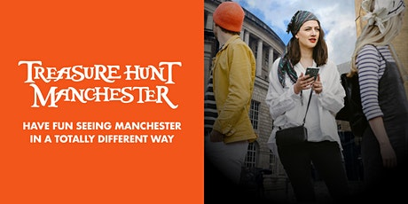 Treasure Hunt Manchester - The Grand Adventure - 1½ - 2½ hours tickets