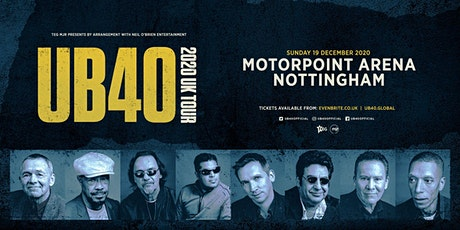 UB40 2020 (Motorpoint Nottingham) tickets