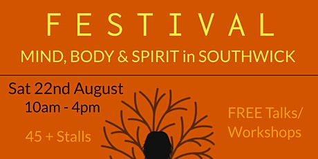 Mind Body Spirit Festival SOUTHWICK tickets