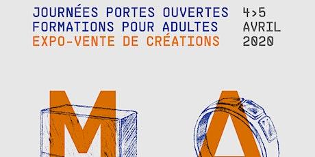 Journées portes ouvertes du GRETA CDMA / expo-vente de créations billets