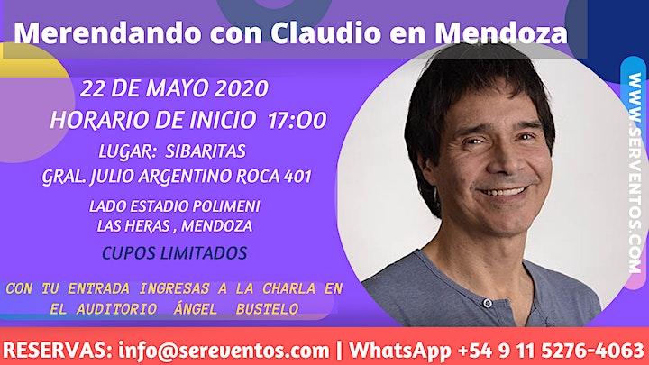 Imagen de Merendando con  Claudio en Mendoza (SUSPENDIDO)
