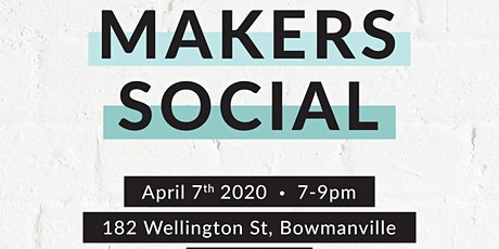 Maker's Social - for Picks and Giggles Participants tickets