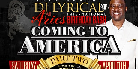DJ LYRICAL AND THE ALL ARIES BIRTHDAY BASH tickets