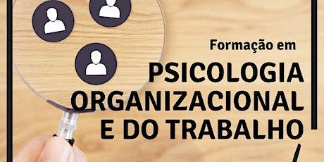 Formação em Psicologia Organizacional e do Trabalh bilhetes