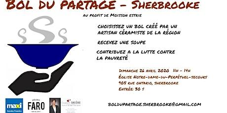 Bol du partage - Sherbrooke billets