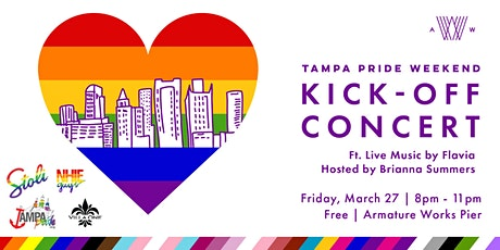 Tampa Pride Kick-Off Concert VIP Ticket tickets