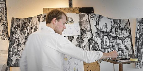 POSTPONED! Ink painting workshop: ignite your creativity with Josef Zlamal tickets
