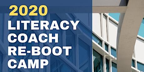 MIRC Literacy Coaching ReBoot Camp 2020 at UCF tickets