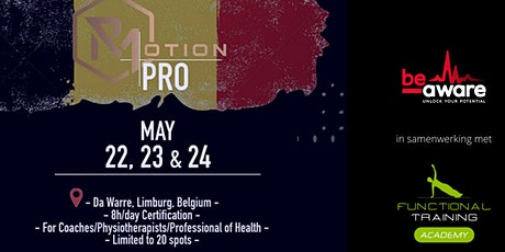 Rmotion PRO Education Belgium billets