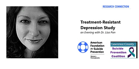 Dr. Lisa Pan Presents Treatment-Resistant Depression Study tickets
