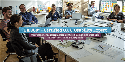 UX 360° – Certified UX & Usability Expert (eng.