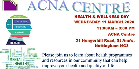 Health and Wellbeing Awareness  Day tickets