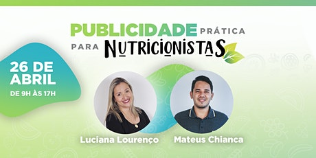 Publicidade Prática para Nutricionistas ingressos
