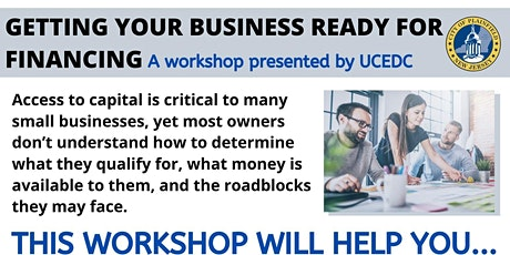 Getting Your Business Ready For Financing tickets
