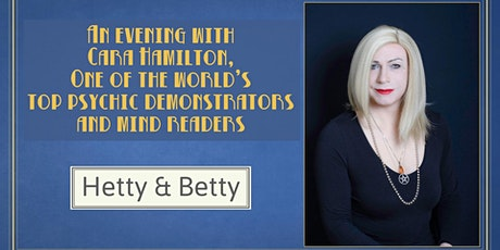 A Spiritual Evening with world renowned psychic Cara Hamilton tickets