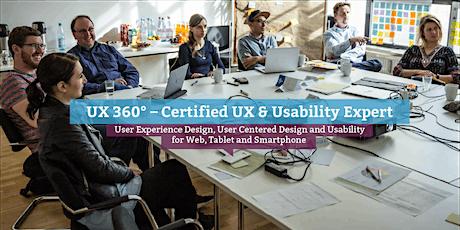 UX 360° – Certified UX & Usability Expert (eng.), Berlin tickets