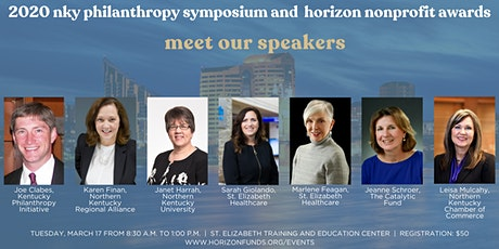 2020 Northern Kentucky Philanthropy Symposium and Horizon Nonprofit Awards tickets