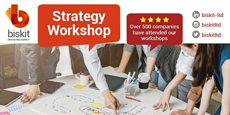 Strategy Webinar - How to Start Thinking Strategically tickets