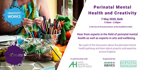 POSTPONED - Perinatal Mental Health and Creativity Conference tickets