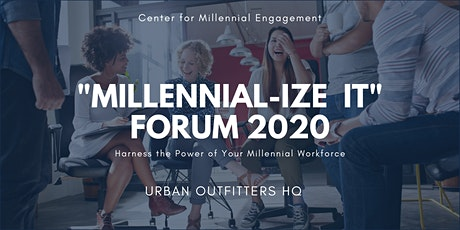 Millennial-ize It Forum at Urban Outfitters HQ-Engaging Millennials in Tech tickets