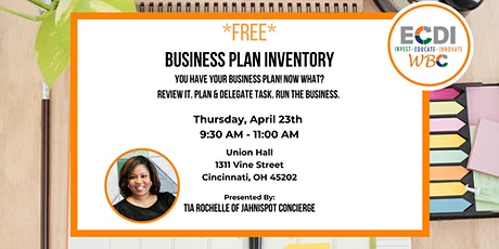 Business Plan Inventory tickets