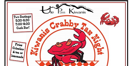 Kiwanis Crabby Tax Night: 1st Seating tickets