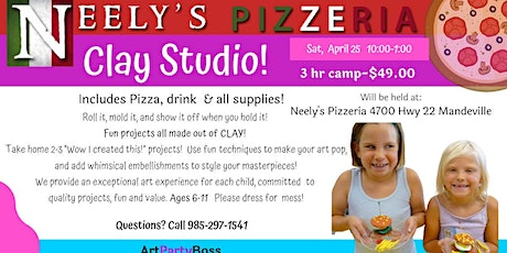 Clay Studio! Ages 6+ tickets