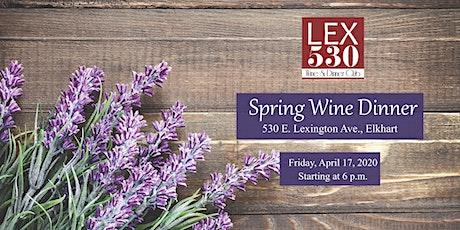 LEX 530 Spring Wine Dinner tickets