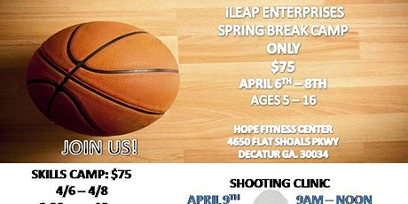 3 Day Spring Basketball Camp tickets