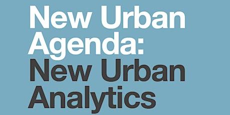 Launch of New Urban Agenda: New Urban Analytics tickets