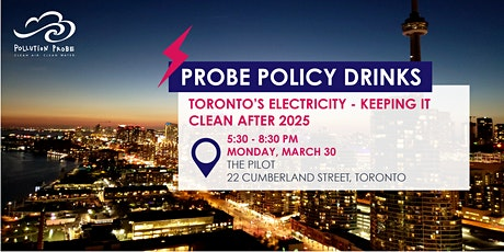 Toronto's Electricity - Keeping it Clean tickets
