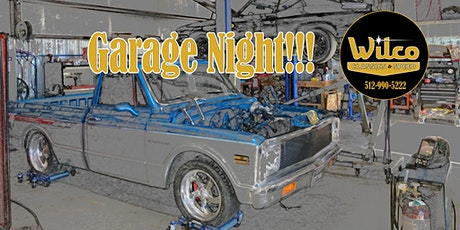 """Garage Night"" at Wilco Classics & Speed tickets"