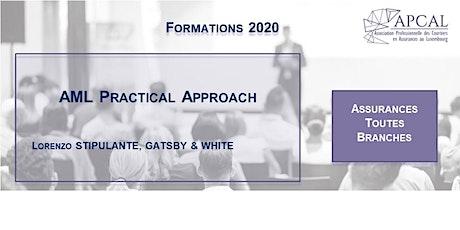 AML Practical Approach - Reporté à date ultérieure tickets