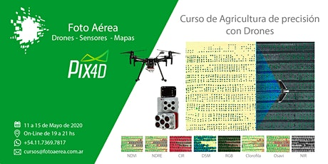 Curso de agricultura de precisión con drones entradas
