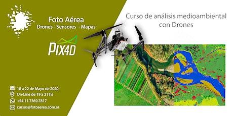 Curso de Drones y Medio Ambiente entradas