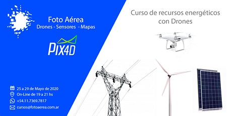 Curso de Drones y Recursos Energéticos entradas