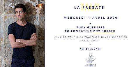 La Frégate Talks - Rudy Guénaire, co-fondateur de Paris-New York (PNY) tickets