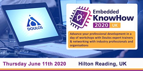 Embedded KnowHow 2020 UK - Reading tickets