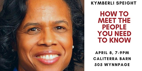 M3POWER April Speaker Series: Kymberli Speight tickets