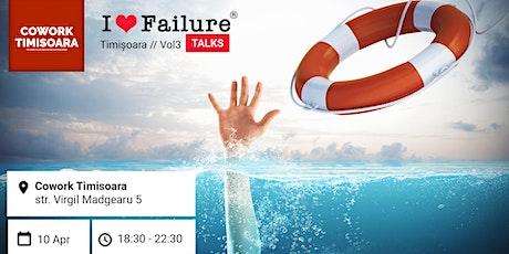 I Love Failure TALKS // Vol 03 tickets
