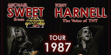 """Michael Sweet & Tony Harnell – """"Tour 1987"""" tickets"""