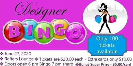 Glitz and Glam Bingo tickets