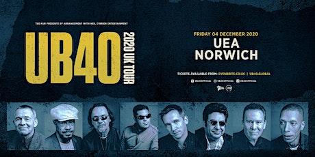 UB40 2020 (UEA, Norwich) tickets