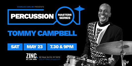 Percussion Masters Series: Tommy Campbell tickets